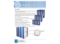 EFS - Model V4 CG - Bank Air Filter with Caged Backing Brochure