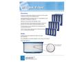 EFS - Model V4 - V-Bank Synthetic Air Filter  Brochure