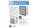 EFS - Model CFC - Corrosion-Free Coalescer Rigid Pocket Filter  Brochure