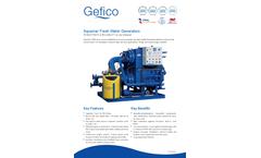 Aquamar - Fresh Water Generators - Datasheet