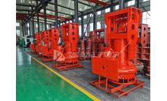 5 sets hydraulic submersible slurry pump for Indonesia customer
