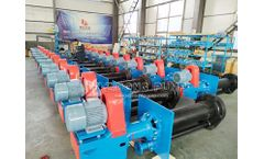 SPR vertical sump pump anti-corrosion rubber liner submersible slurry pump(By ZIDONG PUMP)