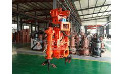 How to select a submersible sand pump for river dredging