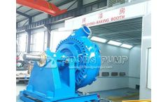 ZIDONG pump company 12x10 High Pressure Sand Pump Work in USA Dredging