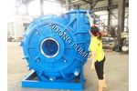 ZIDONG pump company - Model AH - mining slurry pump for highly abrasive solid slurries