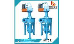 ZIDONG - Model ZF - vertical mining floatation slurry pump anti-abrasion froth pump foam pump