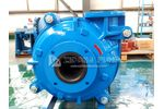 ZIDONG - centrifugal horizontal anti-corrosion rubber liner slurry pump