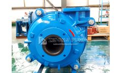 ZIDONG - centrifugal horizontal anti-corrosion rubber liner slurry pump