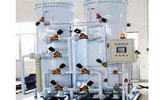 Gaspu - Model PD2N-50P - N2 Generator for Plastic Process