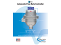 Kates - Model FC - Automatic Flow Rate Controllers Brochure
