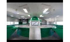 AKTID - PSI Environnement - Industrial waste sorting center Video