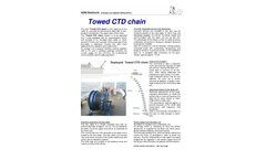 Model CTD - Towed Chain for Two-Dimensional Measurements in Ocean Brochure