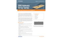 3D-Radar - Model DXG-Series - Ground Coupled Antenna Arrays Brochure