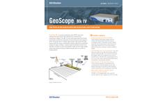GeoScope - Model MkIV - Ground Penetrating Radar (GPR) Brochure