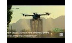 TTA M6E Agriculture drone from Beijing TT Aviation Technology Video