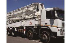 Truck Mounted Boom Pump