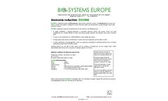 Model EU1000 - Ammonia Reduction - Datasheet