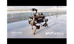 World's First Autonomous Offshore Robot – ANYmal Video