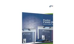 INFICON - Model Protec P3000(XL) - Helium Sniffer Leak Detector - Brochure