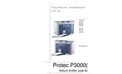 INFICON - Model Protec P3000(XL) - Helium Sniffer Leak Detector - Manual