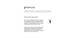 INFICON - Model Ecotec E3000 - Multigas Sniffer Leak Detector - Datasheet
