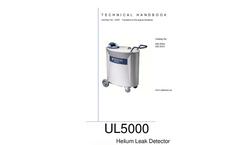 INFICON - Model UL5000 - Dry Helium Leak Detector - Manual