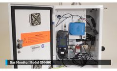 Installing the Gas Monitor Model GM460 and Probe on the DustTrak Environmental Monitor - Video
