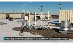 Installing the Metrology Station to the DustTrak Environmental Monitor - Video