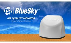 To Set Up and Install the BlueSky Air Quality Monitor - Video