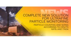 TSI Now Offers Full Solution for Ultrafine Particle Monitoring