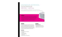 TSI - Model 3079A - Aerosol Generators - Spec Sheets