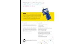 TSI AeroTrak - Model 9306 - Handheld Particle Counter - Datasheet
