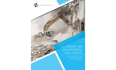 Outdoor Air Monitoring Solutions - Continuous Real-Time Monitoring for any Environment - Brochure