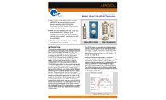 Moudi - Model 100NR, 100S4, 110NR - Classic, Precise Cascade Impactors - Datasheet