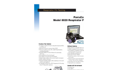 PORTACOUNT® Plus Respirator Fit Tester Spec Sheet