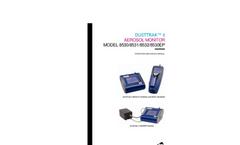 DustTrak II Aerosol Monitor 8530EP Manual