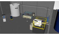 H2Flow DAF System with SD Sludge Press - H2Flow Dissolved Air Flotation - Video