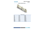 H2Flow - Model cSeries - Pipe Flocculator for Chemical Treatment System - Datasheet