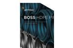 BOSS - Model 2000 - Corrugated HDPE Drainage Pipe Brochure