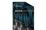 BOSS Polytite - Dual Wall Corrugated HDPE Drainage Pipe Brochure