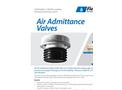 Air Admittance Valves Datasheet