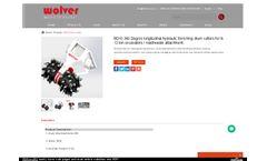 Wolver - Model BD10 360 Degree - Longitudinal Hydraulic Trenching Drum Cutters - Datasheet