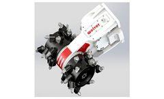 Wolver - Model BG5 - Horizontal Hydraulic Trenching Drum Cutter