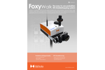 FoxyWalk - Mobile Mapping System Brochure