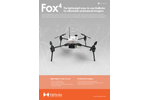 Hélicéo - Model Fox4 - Professional Multirotor Drone Brochure