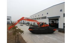 HEKING-amphibious excavator