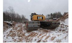 Hekuang - Model AUP200 - Cat Swamp Buggy Excavator