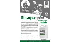 Biosupergrow - Fertilizer Brochure