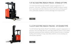 Advantages of Electric Reach Forklift