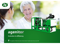 Agenitor - Model 75 to 450kW - Power Plant - Brochure